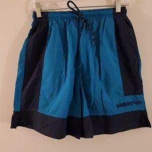 FIRM Umbro unisex teal vintage soccer shorts